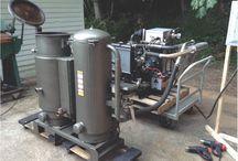 Wood gasifier - häkäpönttö