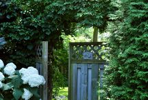 garden gates / A new garden gate perchance... / by Martha Alderson, Plot Whisperer
