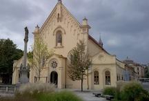 Slovensko - kostoly, kláštory