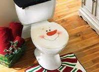 juego de baños navidad