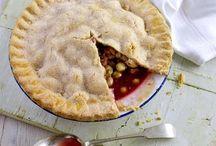 Pies and tarts / Tarts and pies.