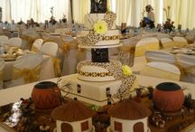 african wedd decor