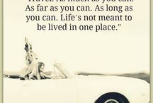 Travel quotes / Quotes to inspire travelers