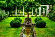 Magia fe los jardines
