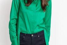 Emerald Green Collection AW16 / Udowadniamy, że jesień może być tak samo kolorowa jak lato! Emerald Green to linia kolekcji, w której popielate, szlachetne odcienie szarości oraz nasycone granaty zostają ożywione przez intensywną, szmaragdową zieleń. Popraw sobie nastrój, gdy za oknem szaroburo :-).