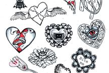 Idee per tatuaggi / disegni