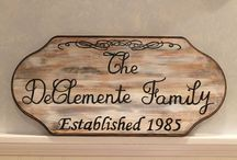 Family Established Plaques
