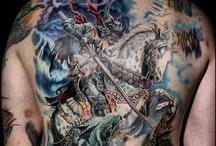 Back Piece tattoos / Backpiece tattoos