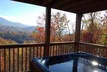 TN Cabin / Gatlinburg, Pigeon Forge, Eastern Tennessee, The Great Smoky Mountains.