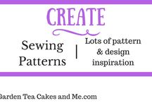 Create | Sewing Patterns / Needle and thread or sewing machine  - lots of pattern inspiration to be found.