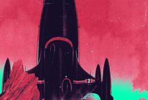 Sci-Fi / Futurism / Space age / Atom age
