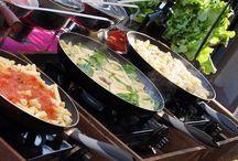 Cocina en vivo y Estación de Pastas | Domingo de Grill