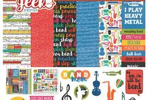 Music/Marching Band Crafty Stuff / Craft products, scrapbook, inspiration