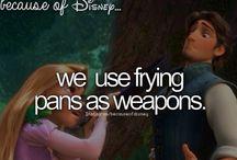 """Because of Disney..."""