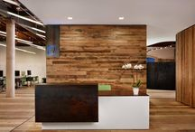 Industrial Offices / Inspiration for an upcoming project. Offices, lobby spaces, and more... / by Niche for design