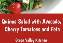 Sunne salater / Kun salat