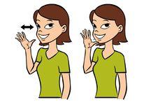 child: sign language / by Amandita Designs