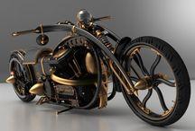 bobbers & bikes