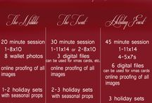 Christmas Minis / Holiday Photo and Decor Ideas
