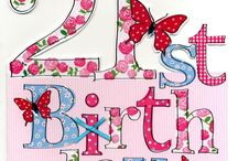 21st Birthdays / A lovely collection of cards & gifts for a 21st Birthday celebration