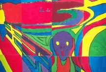 kid art - art history / by ms art