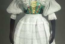 Slavic costumes