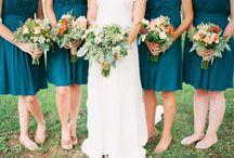 Blue Wedding Details / Blue wedding ideas