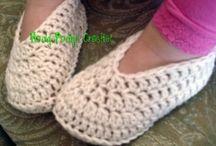 toddler crochet slippers
