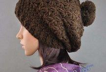 Hats, berets, cloche, crochet