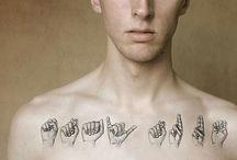 Hand tattoos / BSL tattoo design