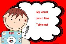 Visual Supports for speech therapy