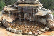 Λιμνούλα με βράχους