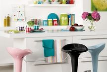 Decoração - Cozinhas / Idéias para decorar a cozinha ou apenas para sonhar com a sua cozinha perfeita.
