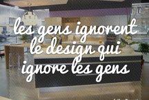 Citations Design / Les citations préférées de l'équipe d'Arthur Bonnet sur le design et la décoration