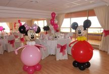 decoracion minnie rojo y negro