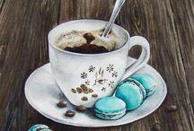 чашка кофе капуччино