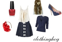 Polyvore / I am clothinghog on Polyvore. So all of these are my creations. Enjoy! / by Hannah Griffin