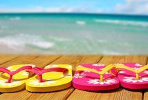 Beach, flip flops & umbrella drinks / by Benja Kinate