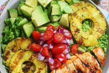 alimentos ricos y sanos