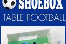 Football / Soccer craft ideas