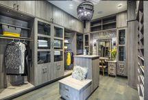 Luxury Closets / Classy closets: custom closets, luxury closets, wood closets white closets, closets.
