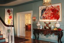 Entry Halls / Welcoming guests with style and drama.