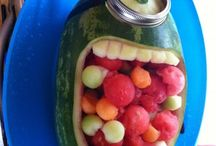 Foods shaped like stuff
