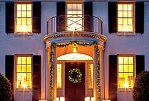 Deck the halls / Southern style Christmas decor to complete any home.