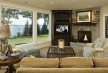 Living room design / by Debbie Clark