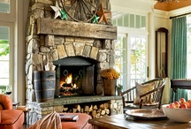 Fireplaces / by Becky Howeth