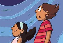 Tween Graphic Novels / These are chosen for difficulty and content for kids in grades 5-8.