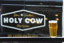 Local Vines, California Drafts, Well / Local beer, local wine and well drinks at Holy Cow.