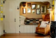 Cozy Dutch cupboard beds / by Claudia Nickolson