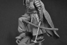 Figures, sculpture, militaria / Handmade figures, militaria, military uniforms
